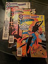 DC Comics Superman #52 Superman and The New Doom Patrol (DEC. 1982), #54 Superman and The Green Arrow (FEB. 1983), #59 Superman and The Legion of Substitute Heroes (JULY, 1983)