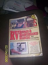 Vintage RV Repair and Matainice Book