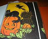 Sealed in the original plastic bag, Halloween paper table covering.    Please write me if you have questions.