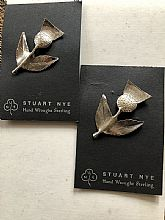 Stuart Nye thistle pin