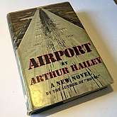 Airport by Arthur Hailey 1968 First EditionDoubleday, New York, 1968. Hard Cover. Condition: Very Good. Dust Jacket Condition: Very Good. First Edition, Book Club edition. A clean, crisp copy in a jacket with barely discernable wear. Basis for the film o