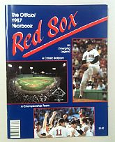 1987 BOSTON RED SOX Yearbook - ROGER CLEMENS - Jim RICE - Wade BOGGS - AL Champs BUCKNER