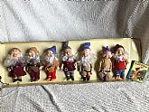 Disney Seven Dwarves doll collection