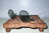 "Antique Civil War Smoky Sunglasses Spectacles""!"