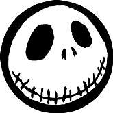 "Up for sale is a new""A Nightmare Before Christmas Jack Skellington Skull Head Sticker""!"