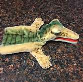 vintage Steiff gaty puppet / gator / crocodile: excellent vintage condition! There is no Tag or button Button. Plush is in very good vintage condition. Can fit an adult hand. The mouth is not designed to move with fingers, but can be moved with string. Be
