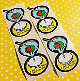 NOS 1980s Scratch and Sniff Stickers.