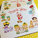 Cute unused Thank You postcards.