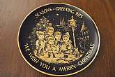 Collectible Plate - Seasons Greetings 1973