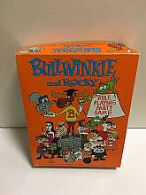 Rocky and Bullwinkle Role Playing Board Game 1988