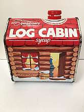 Log Cabin Syrup 100th Anniversary Tin 1987