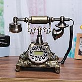 This is a reproduction of Vintage corded telephone in 1950's