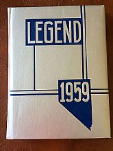 1959 Mineral County High School yearbook, Hawthorne Nevada