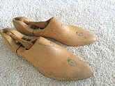 Shapes of wooden shoes Wooden model shoe matrix Collectibles
