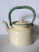 Antique kitchen Kettle swedish kitchen early 1900s Tea pot Kitchen decor Collectibles